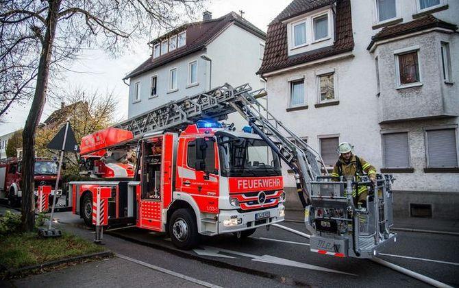 Feuerwehr in esslingen am neckar: einsatz vom 05.11.2017