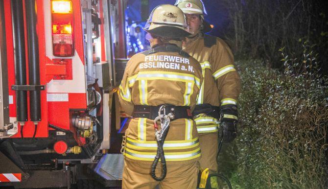 Feuerwehr in Esslingen am Neckar: Einsatz vom 13.01.2018